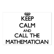 Cute Mathematician Postcards (Package of 8)