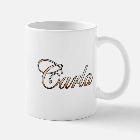 Gold Carla Mugs