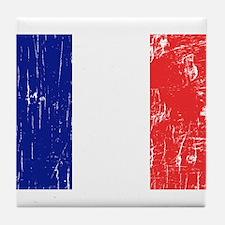 Vintage France Tile Coaster