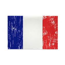 Vintage France Rectangle Magnet