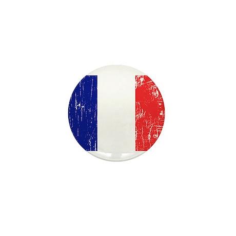 Vintage France Mini Button (100 pack)