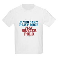 Water Polo Slogan Kids T-Shirt