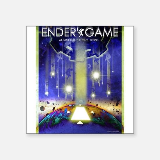 Ender's Game Movie Poster Sticker