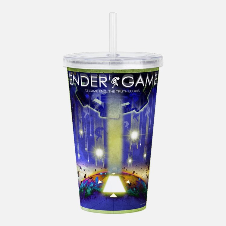 Ender's Game Movie Poster Acrylic Double-wall Tumb