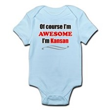 Kansas Is Awesome Body Suit