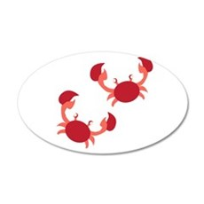 Two Crabs Wall Decal
