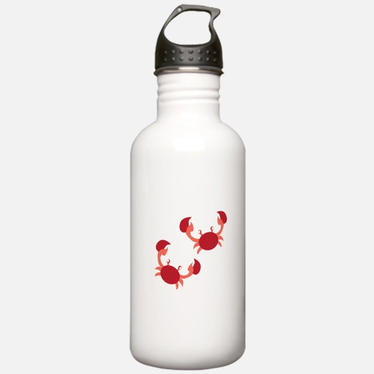 Two Crabs Water Bottle