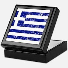 Vintage Greece Keepsake Box