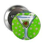 Polka Martini Button