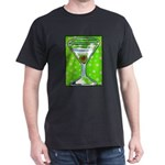 Polka Martini Dark T-Shirt