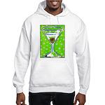 Polka Martini Hooded Sweatshirt