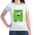 Polka Martini Jr. Ringer T-Shirt