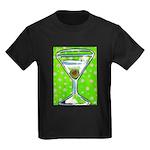 Polka Martini Kids Dark T-Shirt