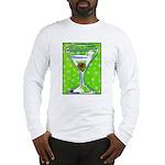 Polka Martini Long Sleeve T-Shirt