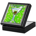 Polka Martini Keepsake Box