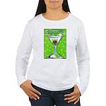 Polka Martini Women's Long Sleeve T-Shirt