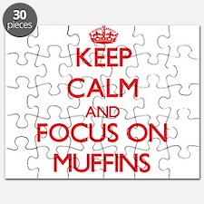 Unique I heart muffins Puzzle