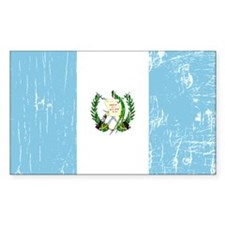 Vintage Guatemala Rectangle Decal