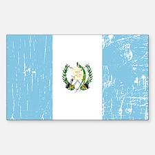 Vintage Guatemala Rectangle Decal