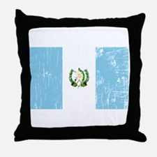 Vintage Guatemala Throw Pillow