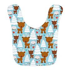 Reindeer Christmas Holiday Bib