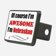 Nebraska Is Awesome Hitch Cover