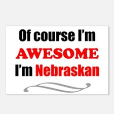 Nebraska Is Awesome Postcards (Package of 8)