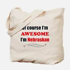 Nebraska Is Awesome Tote Bag