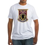 USS FORRESTAL Fitted T-Shirt