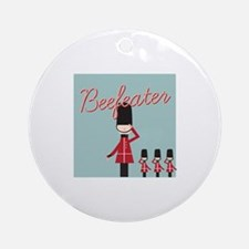 Beefeater Ornament (Round)