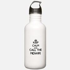 Funny Midwife Water Bottle