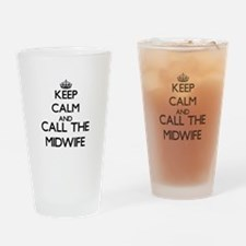 Cute Midwives Drinking Glass