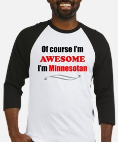 Minnesota Is Awesome Baseball Jersey