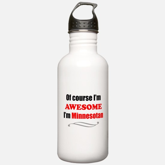 Unique Funny state Water Bottle