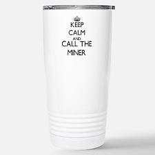 Cute Coal mining Travel Mug