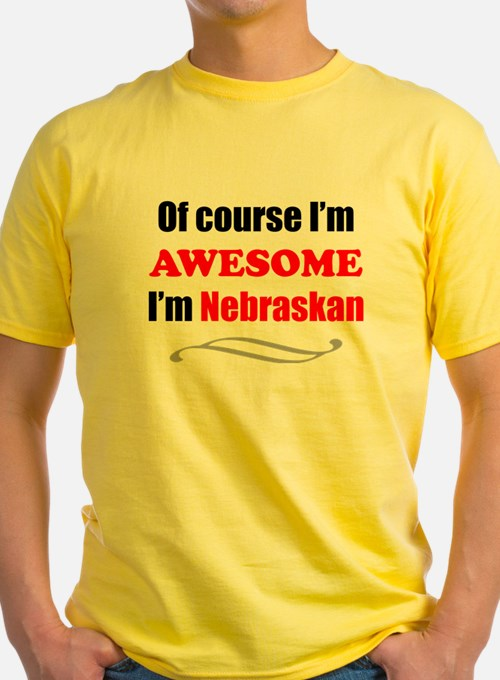 Nebraska Is Awesome T-Shirt