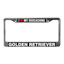 I Love My GeoCaching Golden Retriever