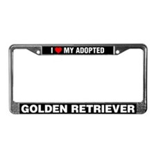 I Love My Adopted Golden Retriever