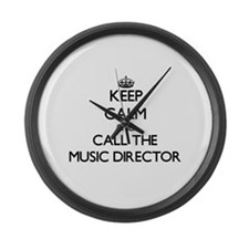 Cute Director band Large Wall Clock