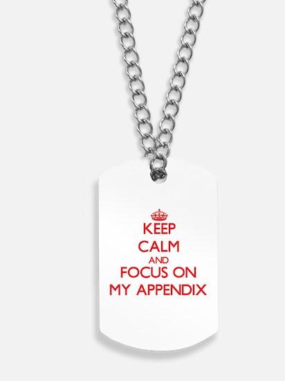 Cute Keep calm and love twilight Dog Tags