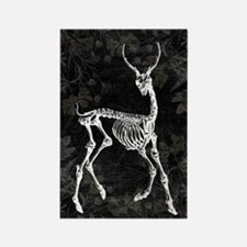 Prancing Deer Skeleton Magnets