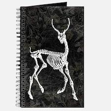 Prancing Deer Skeleton Journal