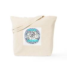 Custom Navy logo Tote Bag