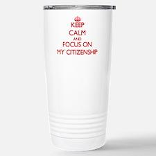 Funny Abolition Travel Mug