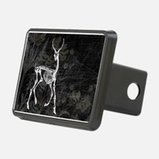 Prancing Deer Skeleton Hitch Cover