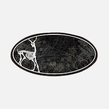 Prancing Deer Skeleton Patches