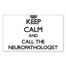 Keep calm and call the Neuropathologist Decal