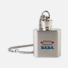 Worlds Greatest Baba Flask Necklace