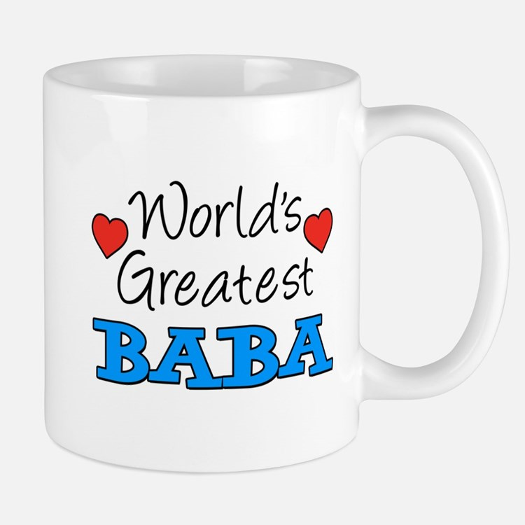 Worlds Greatest Baba Mugs