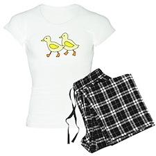 Yellow Ducklings Pajamas